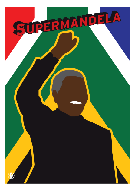 'SuperMandela' © 2013 Jon Daniel. All rights reserved.