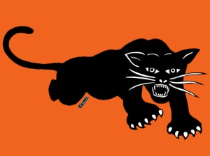 Black Panther Party Logo designed by Emory Douglas
